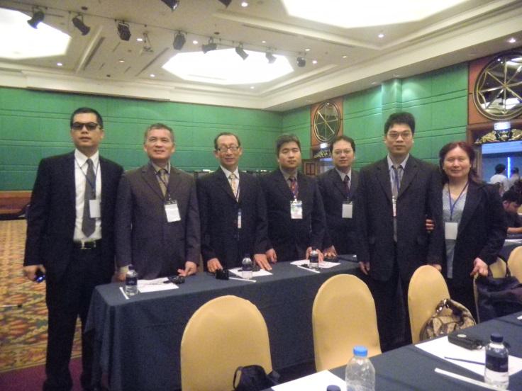 技研中心的老師們與會2014年世界盲人組織WBUAP在泰國舉辦兩年一度亞太區按摩技術研討會