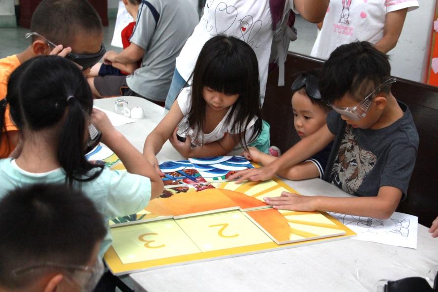 簡而易懂的九宮格拼圖遊戲讓小朋友好上手