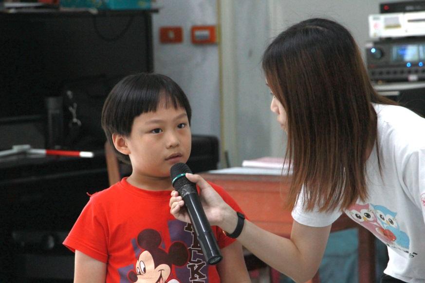 好多的體驗活動除了讓小朋友感受到視障者的不便,從他們口中說出的心得感想才是最真實的